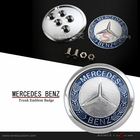Mercedes Benz 60mm Rear Trunk Emblem Badge (Fits most models)