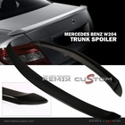 08-11 Mercedes Benz W204 C Class Duck Trunk Lip Spoiler