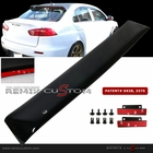 08-11 Mitsubishi EVO X 10 Lancer Rear Roof Window Visor Spoiler Wing with Brackets