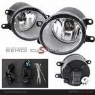08-10 Toyota Corolla Fog Lights Kit Clear (No Cover)