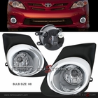 2011 Toyota Corolla OEM Style Clear Fog Lights Ver. 2