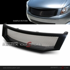08-10 Honda Accord 4DR ABS Front Mesh Grill Black