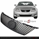 06-08 Lexus IS250 / IS350 'IS-F Style' Front Mesh Grill with Logo Base