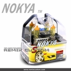 Nokya Pro Halogen H4 80 / 70W 2500K Hyper Yellow Light Bulbs (2pc)