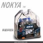Nokya Magnum Pro Halogen H4  5000K Stage 2 Cosmic White Light Bulbs (2pc)