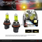 9007 Type 55/65W Hyper Yellow Light Bulbs