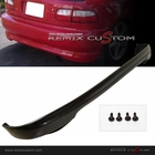 92-95 Honda Civic 3DR Hatchback Type R PU Rear Body Bumper Lip Spoiler Kit