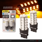 3156 Type SMDx68 Yellow LED Light Bulbs Set