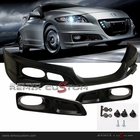 11-12 Honda CRZ MUG-EN ABS Front Body Bumper Lip Kit Spoiler with Fog Covers