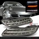 04-08 Porsche 911 / 997 Facelift PDK Style DRL LED Front Bumper Lights