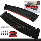 92-95 Honda Civic 4DR Sedan SZ Roof Window Visor Spoiler Wing (with brackets)