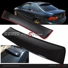 92-95 Honda Civic 2DR Coupe ABS Rear Roof Window Visor Spoiler