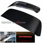 96-00 Honda Civic 3DR Hatchback Carbon LED Roof Spoiler Black
