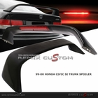 96-00 Honda Civic 2DR Coupe LED Brake Lights Trunk Spoiler Wing