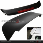 92-95 Honda Civic 3DR Hatchback LED Rear Roof Spoiler Unpaint