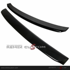 06-11 Hondda Civic 4DR Sedan Black Roof Spoiler Wing