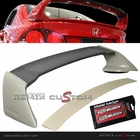 06-11 Honda Civic 4DR Sedan Mugen RR Style JDM ABS Trunk Spoiler Wing with Emblems