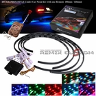 7 Colors LED Under Car Kits w/Remote 90cm X 2 / 120cm X 2