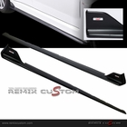 08-12 Subaru Impreza WRX STI S206 FRP Side Skirts with Emblems