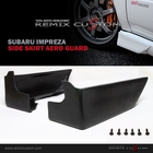 02-07 Subaru Impreza WRX PU Side Skirts Aero Guards