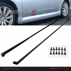 08-10 Subaru Impreza WRX CS Style PU Side Skirts