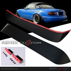 90-97 Mazda Miata hard Top Roof Window Visor Spoiler