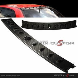 02-07 Mitsubishi Lancer Evolution EVO Vortex Shark Fin Carbon Fiber Roof Spoiler