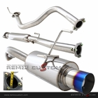 "92-95 Honda Civic EG 3DR Hatchback N1 Style 4"" Burnt Tip Catback Exhaust"