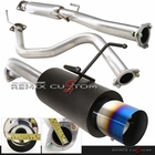 "96-00 Honda Civic 3DR EK Hatchback N1 4"" Burnt Tip Catback Exhaust"