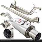 06-11 Honda Civic 2/4DR Non-Si N1 Style Catback Exhaust System