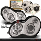 01-07 Mercedes Benz W203 C-Class DEPO Projector Headlights