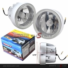 "Universal 3.5"" Fog Lights with Super White Bulbs"