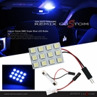 Interior Dome Light 12xSMD LED Blue Universal Size