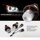 04-07 BMW 6 Series E63 Xenon Super Bright Angel Eye LED OE Replacement Bulbss