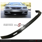 01-02 Honda Accord 2DR Coupe MUG Style PU Front Bumper Lip Spoiler PU