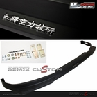 03-05 Honda Accord 2DR Coupe HC Racing Type-W PU Front Bumper Lip Spoiler