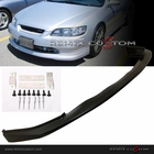 98-00 Honda Accord 2DR Coupe Sport Type PU Front Body Bumper lip Spoiler Kit