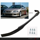 98-00 Honda Accord 2DR Coupe Type R Style PU Front Body Bumper Lip Spoiler Kit