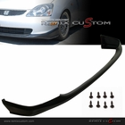 02-05 Honda Civic Si EP3 Hatchback Type R Style PU Front Body Bumper Lip Spoiler Kit