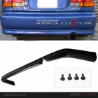 92-95 Honda Civic 2/4DR PU Rear Body Bumper Lip Kit Spoiler