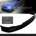 99-00 Honda Civic K1 Drift Style ABS Front Body Bumper Lip Spoiler Kit
