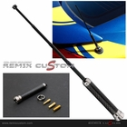 "Universal 3"" Carbon Adjustable Height Car Antenna"