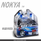 Nokya Pro Halogen H1 7000K 80W  Arctic White Light Bulbs (2pc)