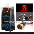 PIVOT Mini Quick Engine Push Start Gold Switch Red LED