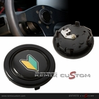JDM Sign Logo Steering Wheel Horn Button