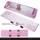 Hello Kitty 270mm Wide Angle Interior Rear View Flat Mirror