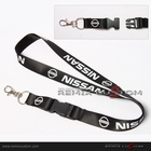 Nissan 20mm Keychain Neck Lanyard Black