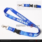 Nissan 20mm Keychain Neck Lanyard Blue