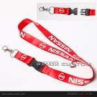Nissan 20mm Keychain Neck Lanyard Red