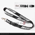 Spoon Sport 20mm Keychain Neck Lanyard Black